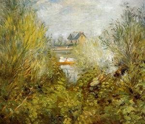 Pierre Auguste Renoir - On The Seine  Near Argenteuil