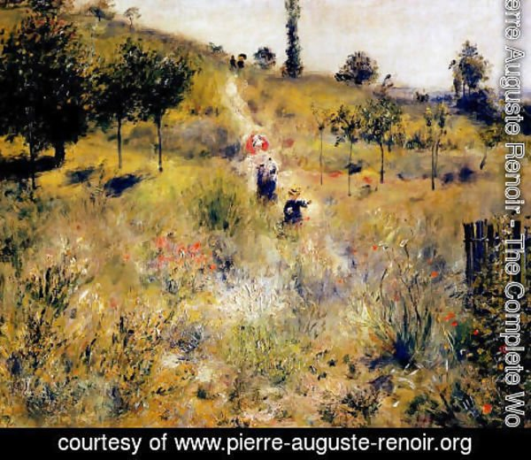Pierre Auguste Renoir - Path Leading Through Tall Grass