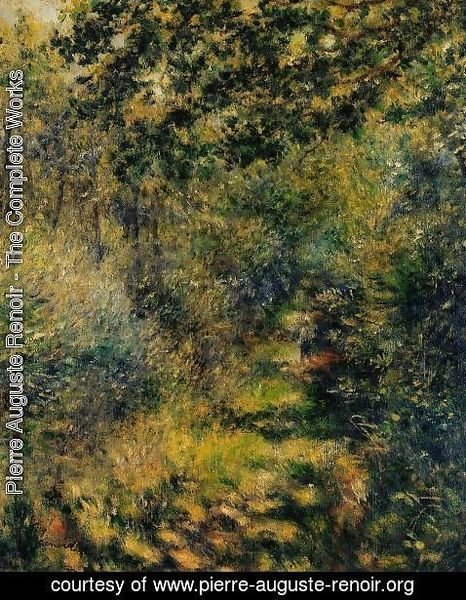 Pierre Auguste Renoir - Path Through The Woods