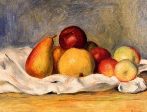 Pierre Auguste Renoir - Pears And Apples2
