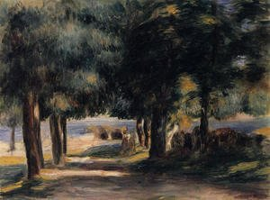 Pierre Auguste Renoir - Pine Wood On The Cote D Azur