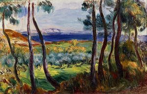 Pierre Auguste Renoir - Pines In The Vicinity Of Cagnes