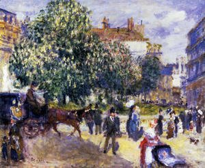 Pierre Auguste Renoir - Place De La Trinite  Paris 2