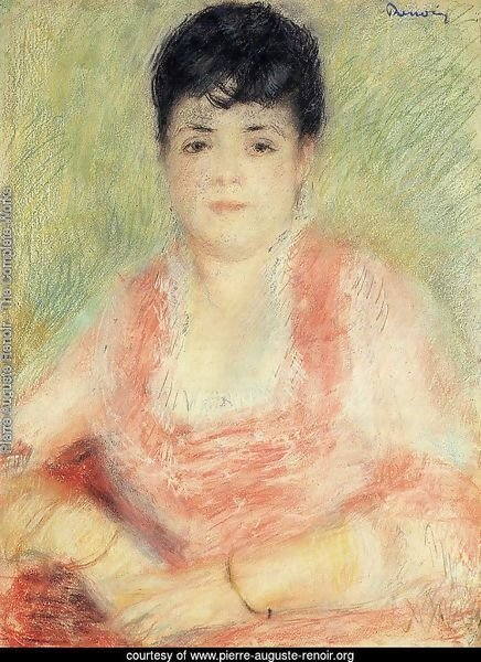 Portrait In A Pink Dress