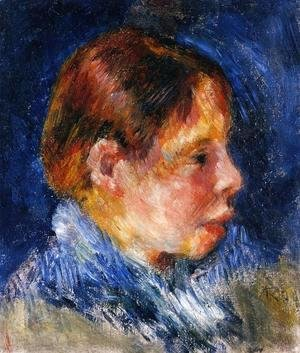 Pierre Auguste Renoir - Portrait Of A Child2