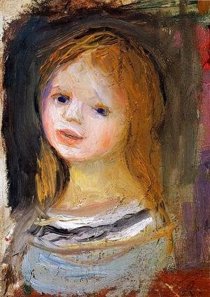 Pierre Auguste Renoir - Portrait Of A Woman