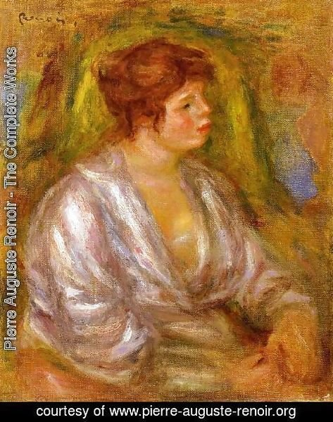 Pierre Auguste Renoir - Portrait Of A Woman2