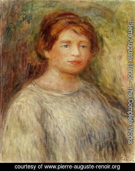 Pierre Auguste Renoir - Portrait Of A Woman4
