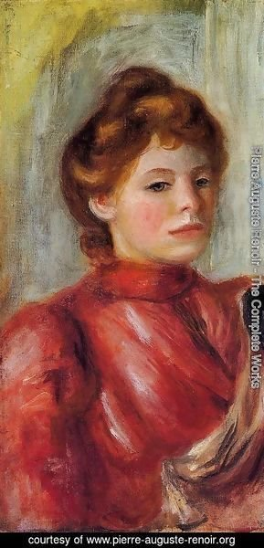 Pierre Auguste Renoir - Portrait Of A Woman5