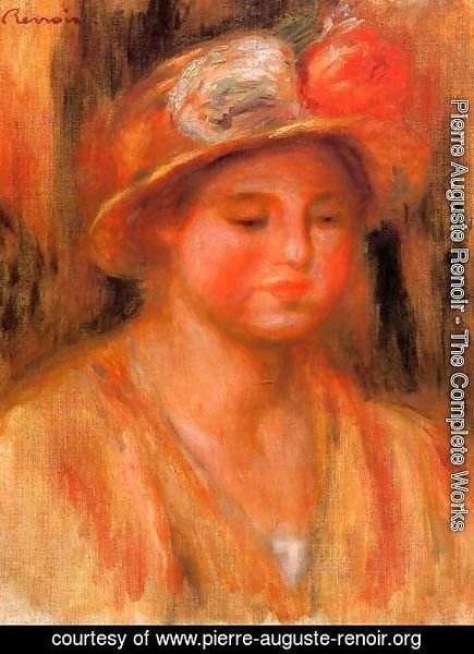 Pierre Auguste Renoir - Portrait Of A Woman6