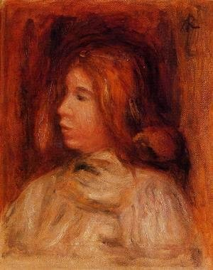Pierre Auguste Renoir - Portrait Of A Yong Girl
