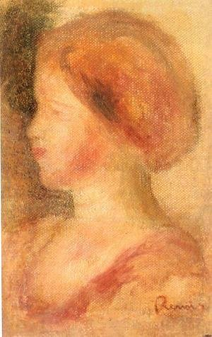Pierre Auguste Renoir - Portrait Of A Young Girl2