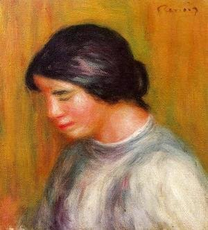 Pierre Auguste Renoir - Portrait Of A Young Girl4
