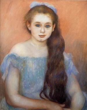 Pierre Auguste Renoir - Portrait Of A Young Girl 5