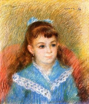 Portrait Of A Young Girl Aka Elizabeth Maitre