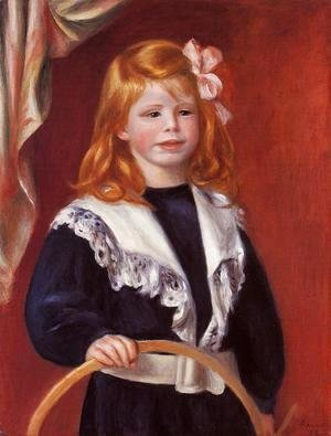 Portrait Of Jean Renoir Aka Child With A Hoop