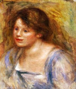 Pierre Auguste Renoir - Portrait Of Lucienne