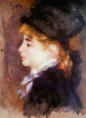 Pierre Auguste Renoir - Portrait Of Margot Aka Portrait Of A Model