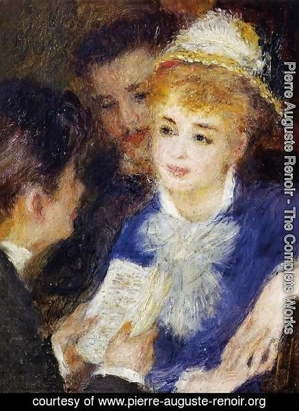 Pierre Auguste Renoir - Reading The Part