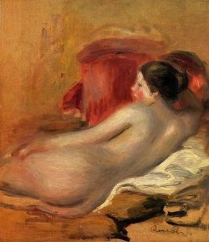 Pierre Auguste Renoir - Reclining Model