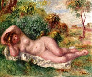 Pierre Auguste Renoir - Reclining Nude Aka The Bakers Wife