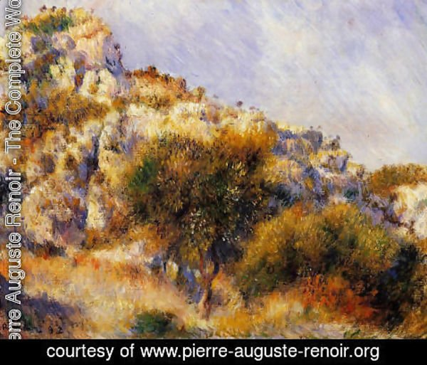 Pierre Auguste Renoir - Rocks At L Estaque