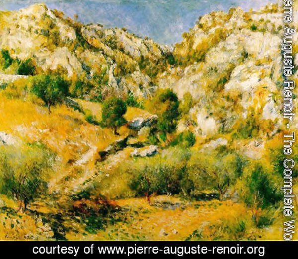 Pierre Auguste Renoir - Rocky Craggs At L Estaque