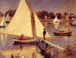 Sailboats At Argenteuil