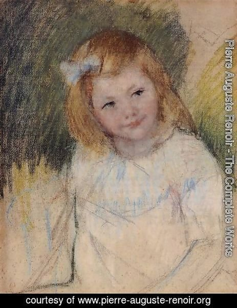 Pierre Auguste Renoir - Sara Looking To The Right