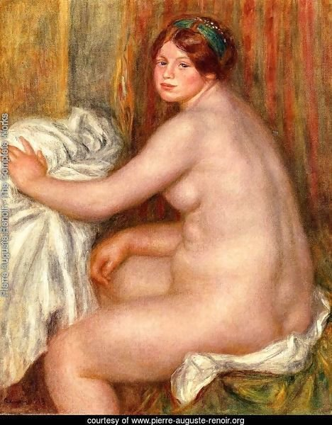 Seated Bather3