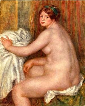 Pierre Auguste Renoir - Seated Bather3