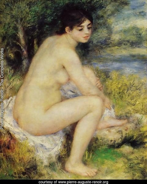 Seated Bather4