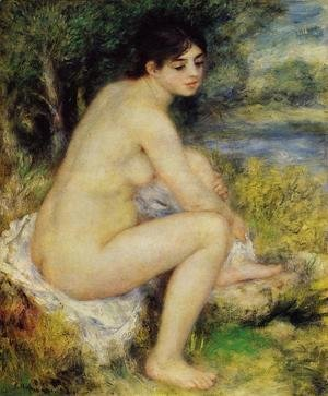 Pierre Auguste Renoir - Seated Bather4
