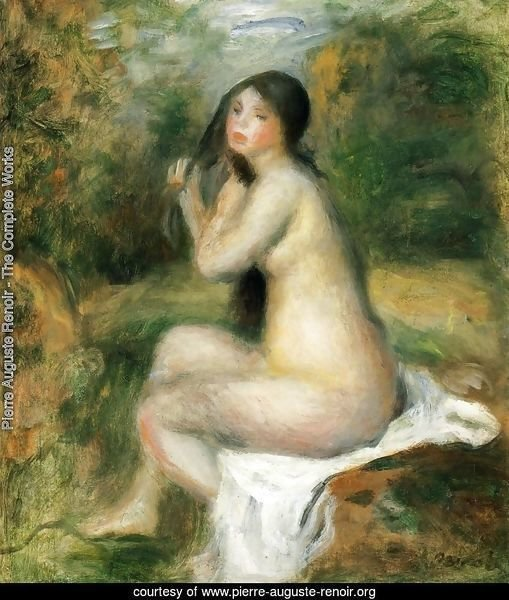 Seated Bather 5
