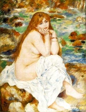 Pierre Auguste Renoir - Seated Bather 6