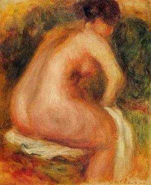 Pierre Auguste Renoir - Seated Female Nude