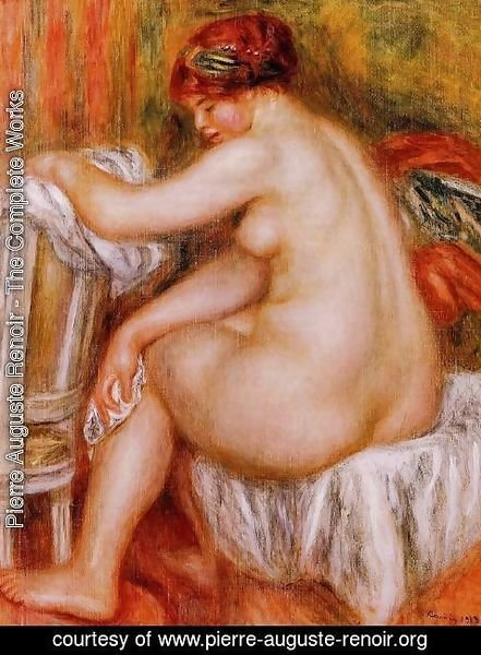 Pierre Auguste Renoir - Seated Nude