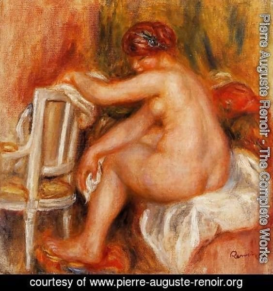 Pierre Auguste Renoir - Seated Nude2