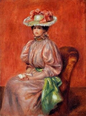 Pierre Auguste Renoir - Seated Woman