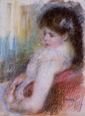 Pierre Auguste Renoir - Seated Woman2