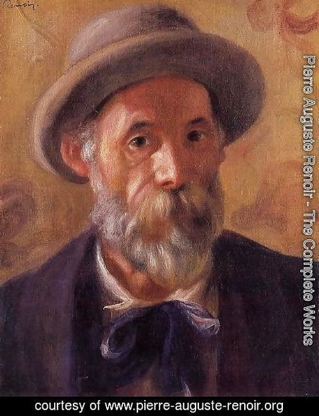 Pierre Auguste Renoir - Self Portrait