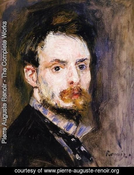 Pierre Auguste Renoir - Self Portrait2