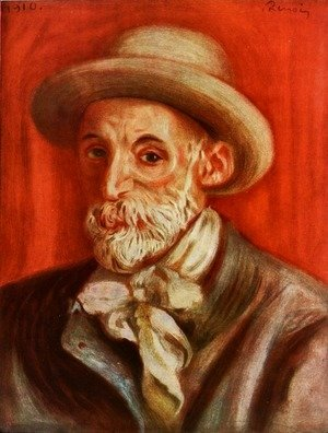 Pierre Auguste Renoir - Self Portrait3
