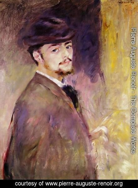 Pierre Auguste Renoir - Self Portrait At The Age Of Thirty Five