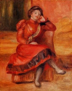 Pierre Auguste Renoir - Spanish Dancer In A Red Dress