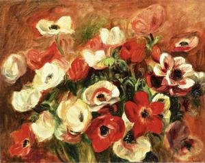 Pierre Auguste Renoir - Spray Of Anemones