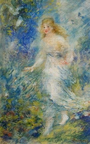 Pierre Auguste Renoir - Spring (The Four Seasons)