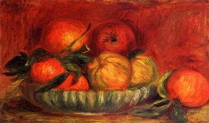 Pierre Auguste Renoir - Still Life With Apples And Oranges