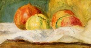 Pierre Auguste Renoir - Still Life With Apples And Pomegranates