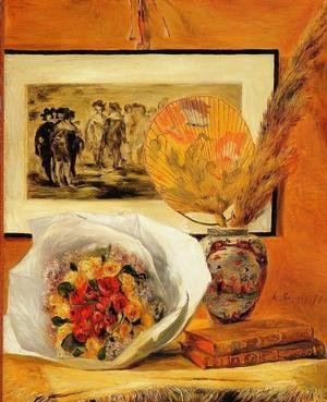 Pierre Auguste Renoir - Still Life With Bouquet